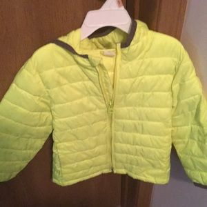Gap lightweight bubble coat 3T